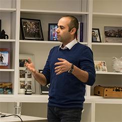 Co-Founder and CEO of Aimsio Ash Esmaeili