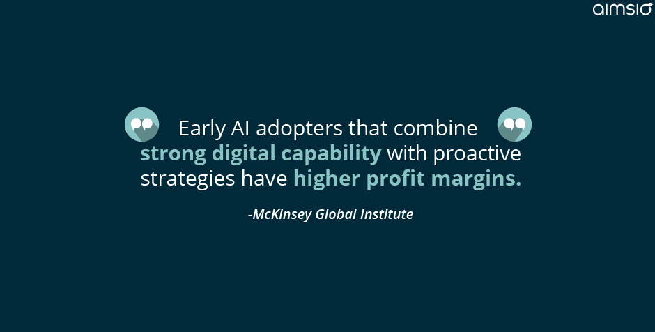 Early AI adopters