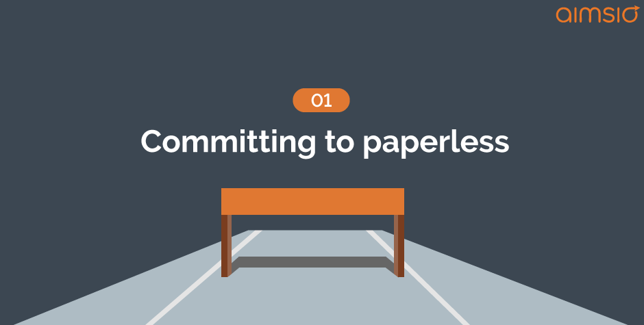 implementation hurdle3-committing-to-paperless