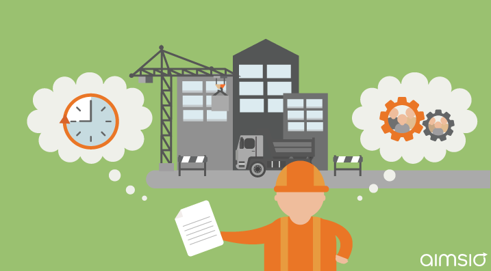 a construction worker worried about delays associated with managing remote projects