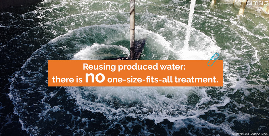 reusing produced water